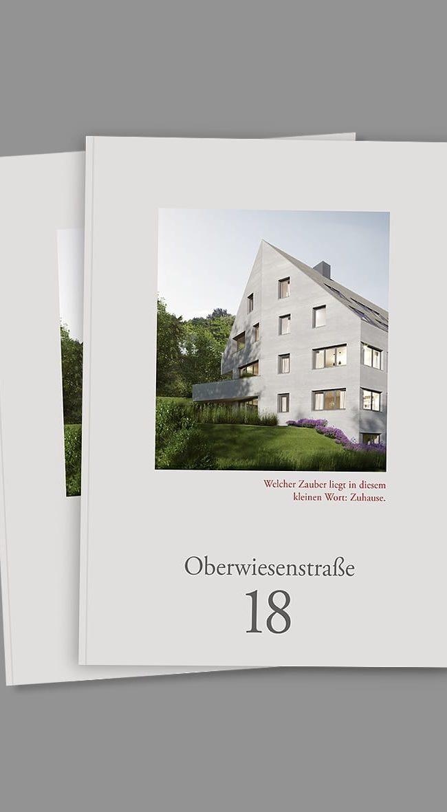 Exposé Oberwiesenstrasse für wohnbaustudio